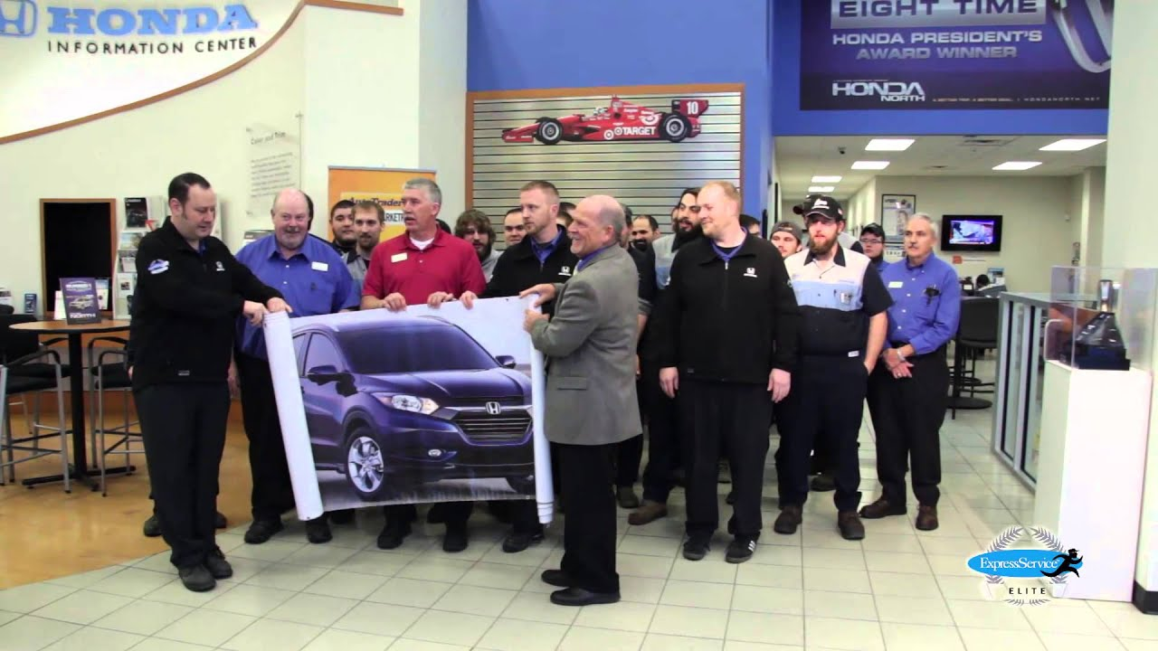 Honda North Team Receives Elite Express Service Award
