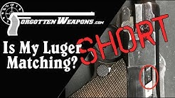 How to Check If A P08 Luger Has All Matching Serial Numbers