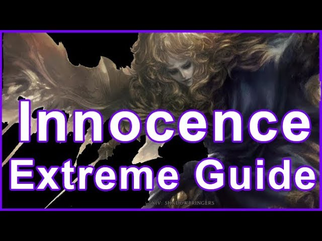 FFXIV ¬ Innocence Extreme Guide - The Crown of the immaculate Extreme