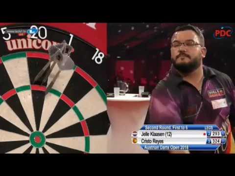 2018 Austrian Darts Open Round 2 Klaasen vs Reyes