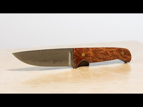 Making a Knife - S*n-Mai Damascus