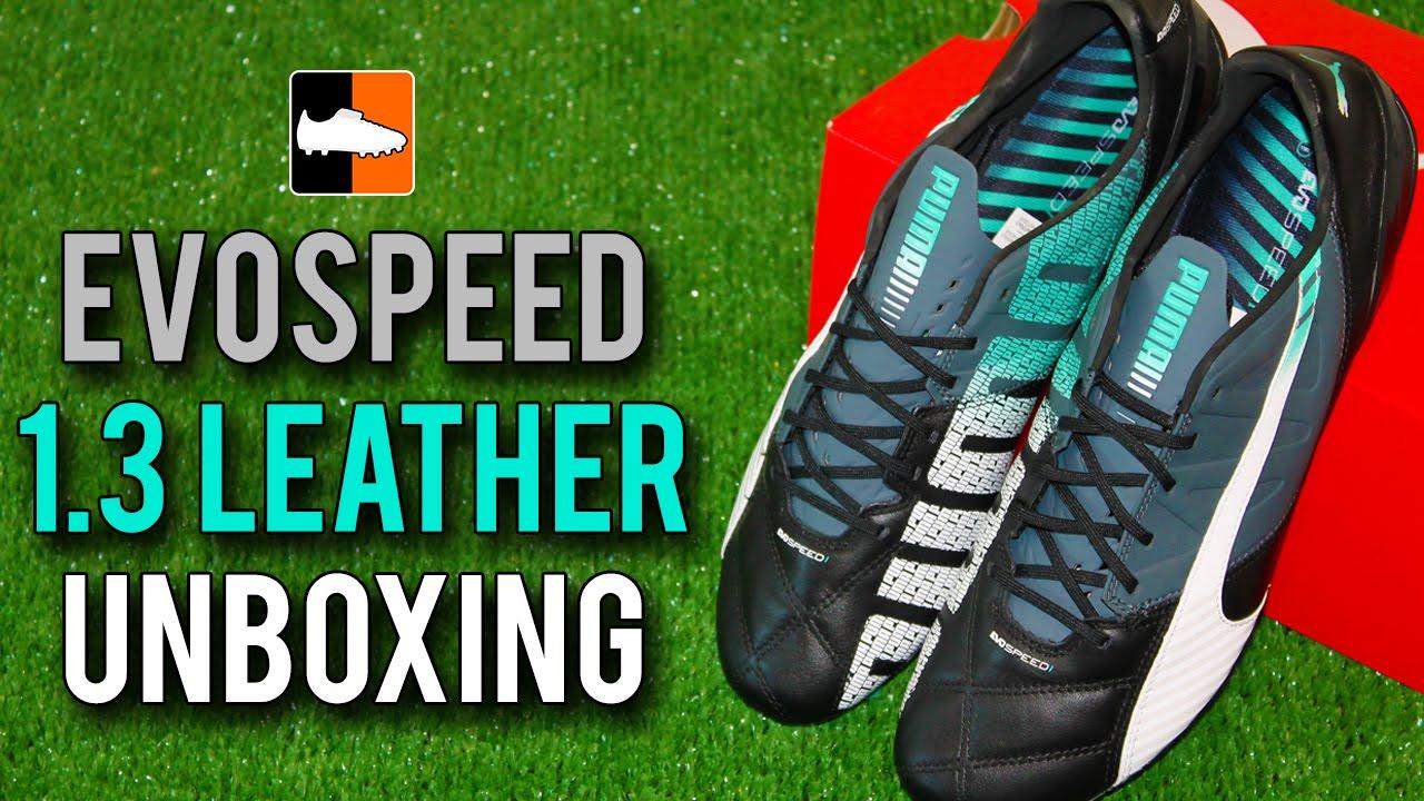 PUMA evoSPEED 1.3 Leather Unboxing