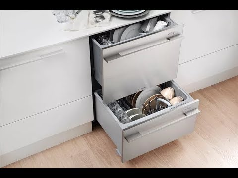 Fisher & Paykel Double DishDrawer Dishwasher (Tall) Unboxing