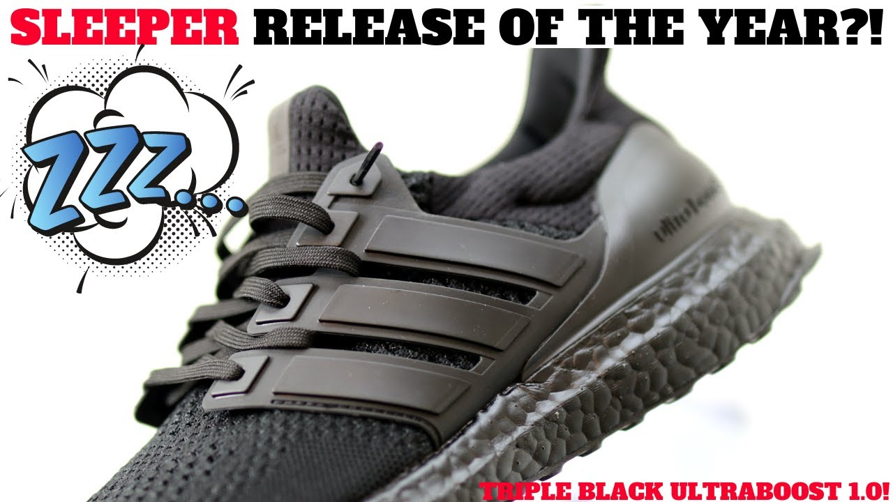 SLEEPER RELEASE OF THE YEAR?! OG adidas ULTRABOOST 1.0 TRIPLE BLACK Review!
