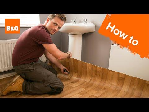 How to lay sheet vinyl flooring