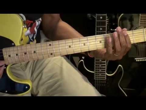 RUDE Magic Electric Guitar Lesson Reggae Style Tutorial EricBlackmonMusicHD