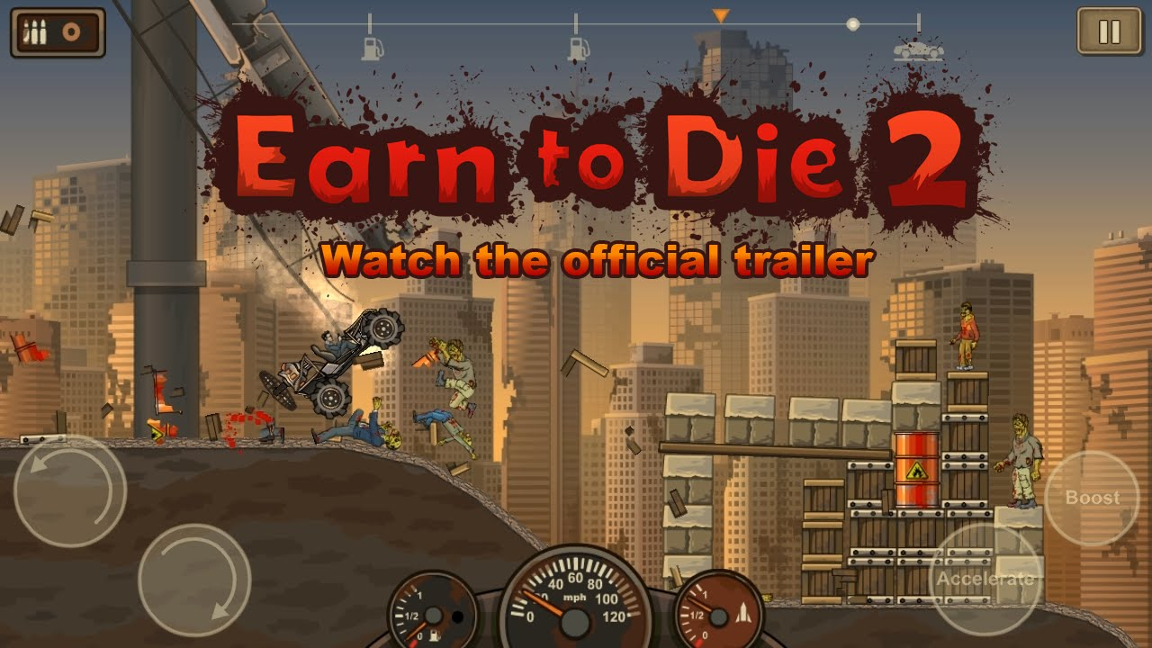 earn to die 2 official trailer youtube