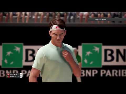 Roger Federer vs Joao Sousa ATP Roma Masters 19 AO International Tennis
