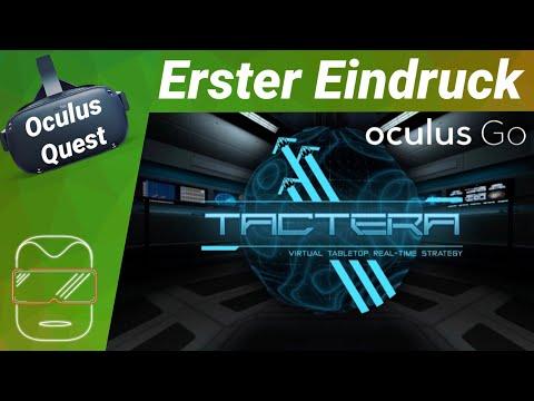 Oculus Quest - Tactera: Strategie Spiel VR [deutsch] Erster Eindruck Review Trailer Virtual Reality