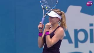 2017 Apia International Sydney Quarterfinals WTA Roundup