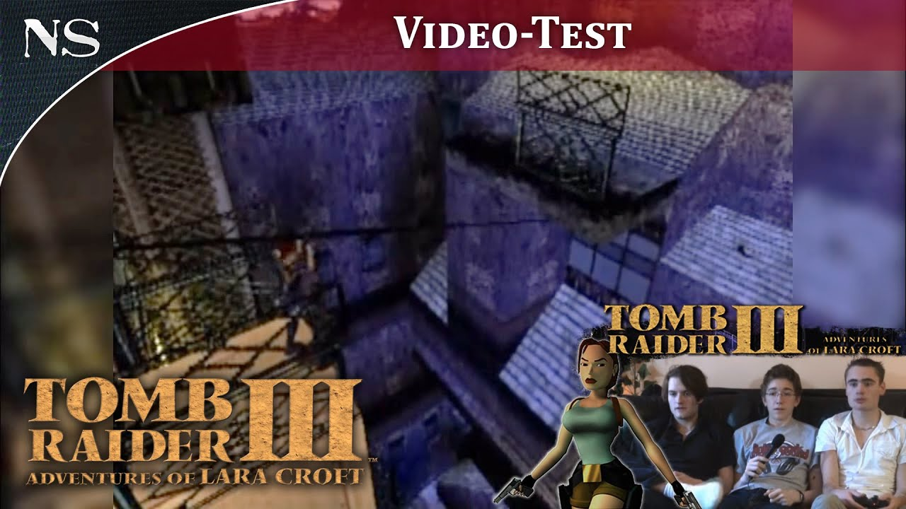 Tomb Raider Iii Video Test Ps1 Nayshow
