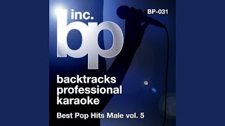 Tears and Rain (Karaoke Instrumental Track) (In the Style of James Blunt)