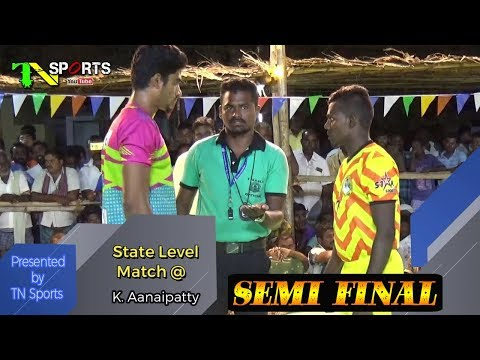 SF - Durai Singam Thoothukudi Vs MG Sports Karur | State Level Match @ K.Aanaipatty, Dindigul