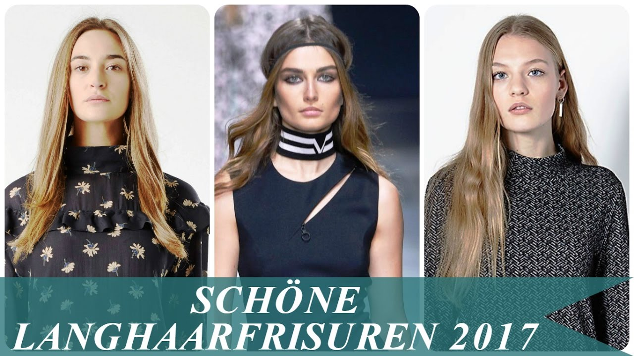 sch ne langhaarfrisuren 2017 youtube. Black Bedroom Furniture Sets. Home Design Ideas