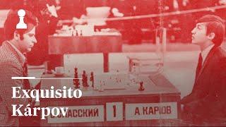 AJDREZ: Llega el exquisito Kárpov | El rincón de los inmortales