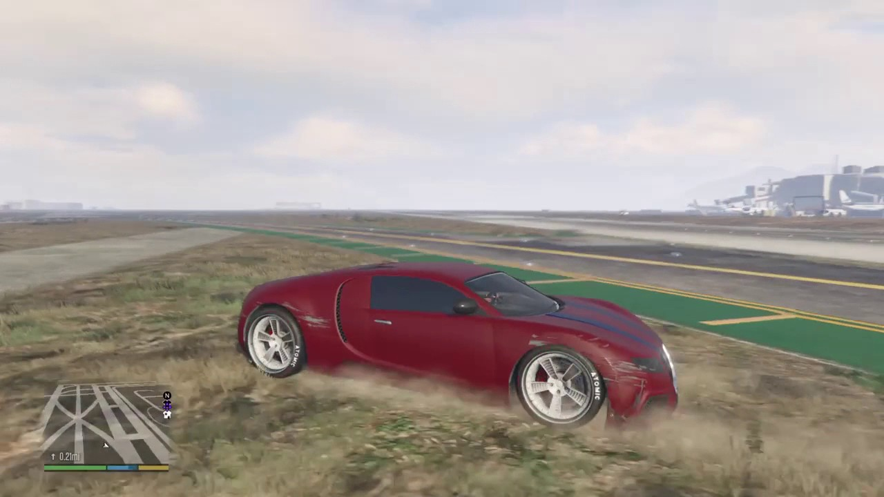 truffade adder the bugatti veyron of gta v road test. Black Bedroom Furniture Sets. Home Design Ideas