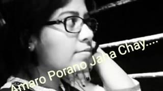 Amaro porano jaha chai.music-karaoke,unplugged cover by sharmistha karmakar