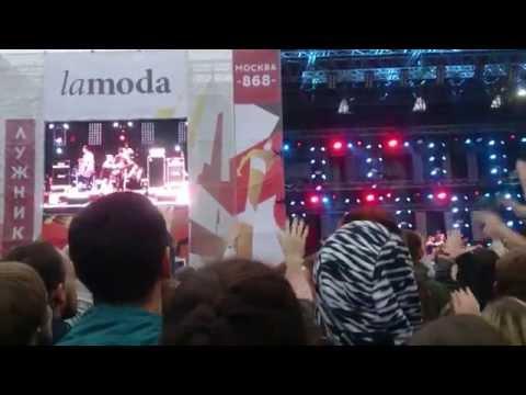 Большой рэп концерт в Лужниках на День города Москвы 05.09.2015