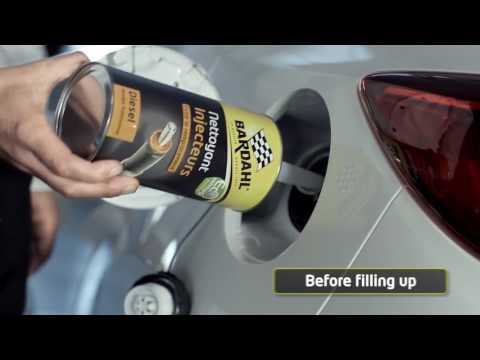 Bardahl Tv advertising - How to prevent bad fuel injectors Clogged