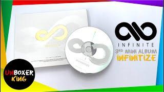 Infinite 인피니트 3rd Mini Album  - Infinitize Album Unboxing