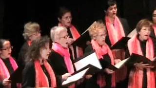 Dolça cançó de la nit de Nadal. Coral Baluern. Concert Nadal 2009.flv