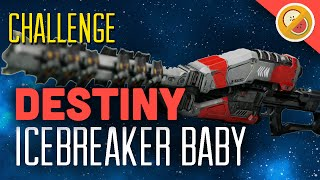 "DESTINY CHALLENGE ""Icebreaker Baby"" Crucible Restraints (Funny Moments)"