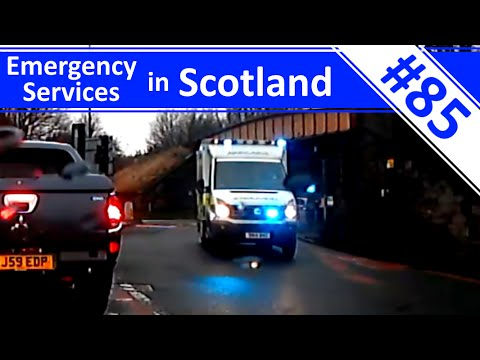 Ambulance Double! - Ep.85 - Emergency Services in Scotland