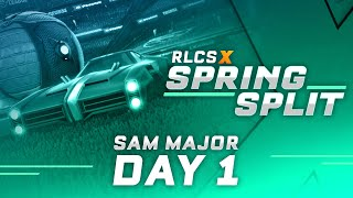 RLCS X | SAM Spring Split Major | Day 1