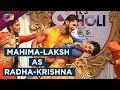 Mahima Makwana and Laksh Lalwani's Radha-Krishna act