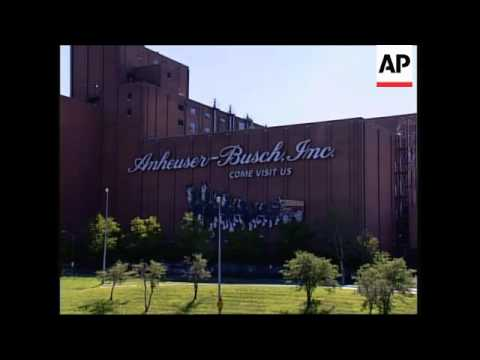 Reaction to takeover of Anheuser-Busch by Belgian company