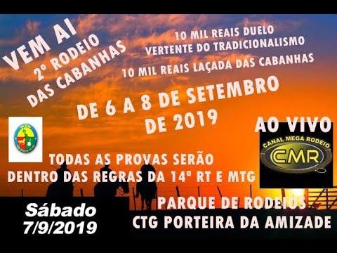 2º Rodeio das Cabanhas - CTG Porteira da Amizade - Lagoão-RS - Sabado