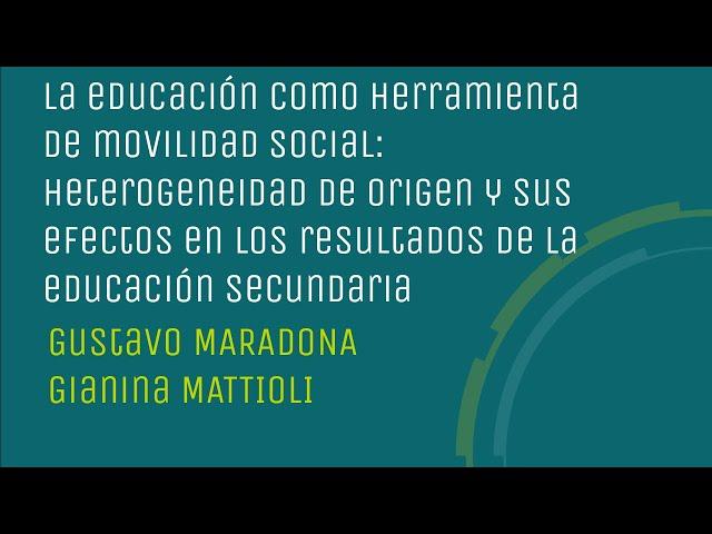 La educación como herramienta de movilidad social