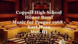 Music for Prague (1968) Mvt. III