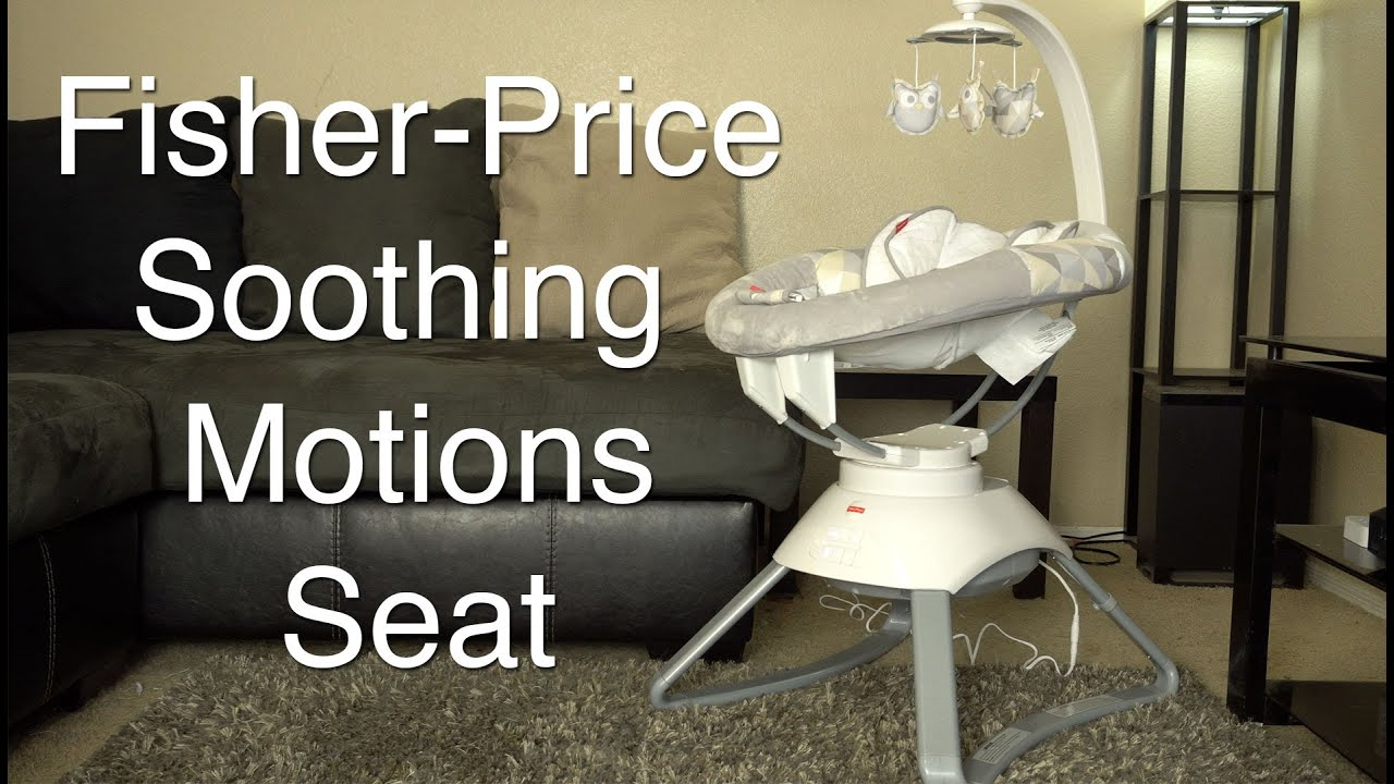 Fisher Price Soothing Motions Seat Review With Smart Connect Youtube