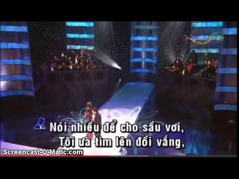 karaoke lk le bong  sau le bong doi bong ,song ca (co giong nu zMz_QuyNh_Mai_zQz  )