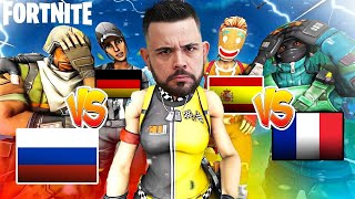 MINI BATTLE ROYALE EUROPEA - FORTNITE