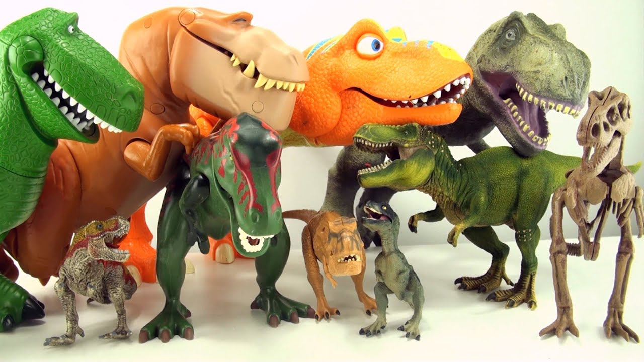 Dinosaurs Toys Collection : Terrifying tyrannosaurus toys dinosaur collection of