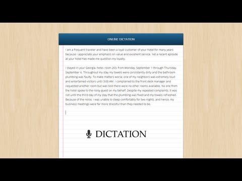 Speech Recognition App for Google Chrome