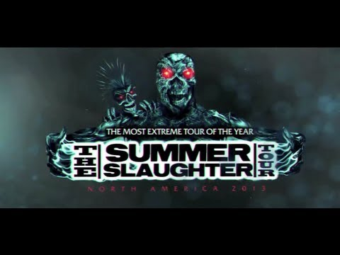 THE SUMMER SLAUGHTER TOUR - 2013 Trailer mp3