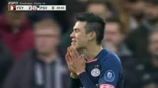 Feyenoord vs psv 2-1 resumen hightlights 2018
