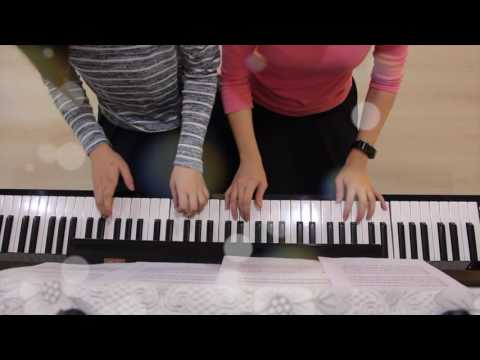 Jingle Bells Boogie Four Hands Piano Cover