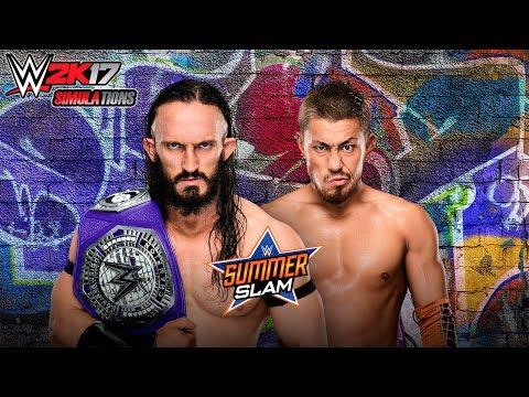 WWE 2K17 - SUMMER SLAM 2017: Neville vs Akira Tozawa