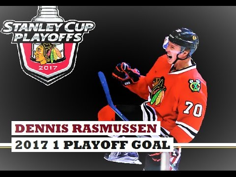 Dennis Rasmussen (#70) ● 1 Playoff Goal 2017 Stanley Cup Playoffs (HD)
