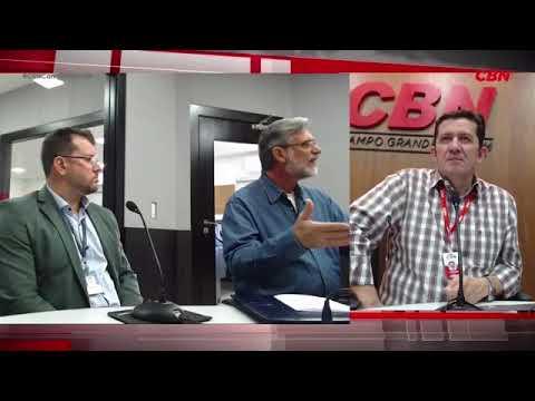 Entrevista CBN Campo Grande: Alex Garcia e Gustavo Kuhl