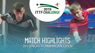Денис Ивонин vs Martin Bentancor | North American Open 2019 (U21 R16)