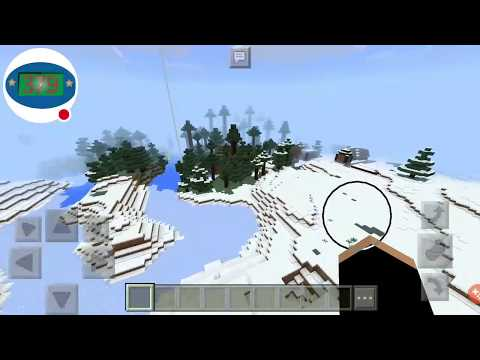 Igloo and Double Spruce Village | Minecraft PE Seed | Seed Tuesday 6