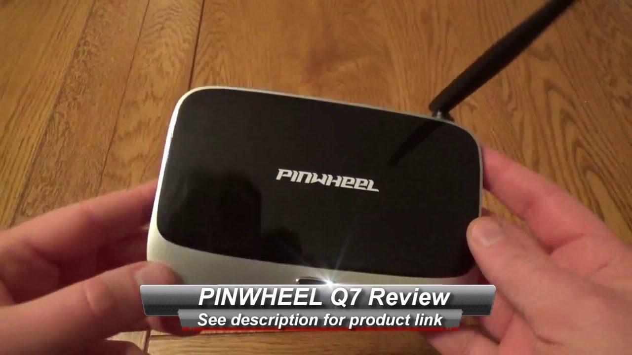 PINWHEEL Q7 Android TV Box Review