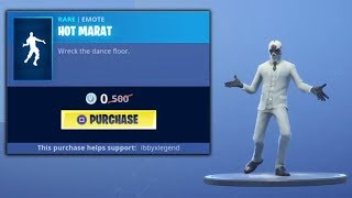 Fortnite *FREE* EMOTE - 0 VBUCKS! (Hot Marat Emote) LIMITED TIME!