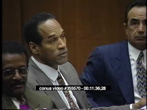 OJ Simpson Trial - February 21st, 1995 - Part 1