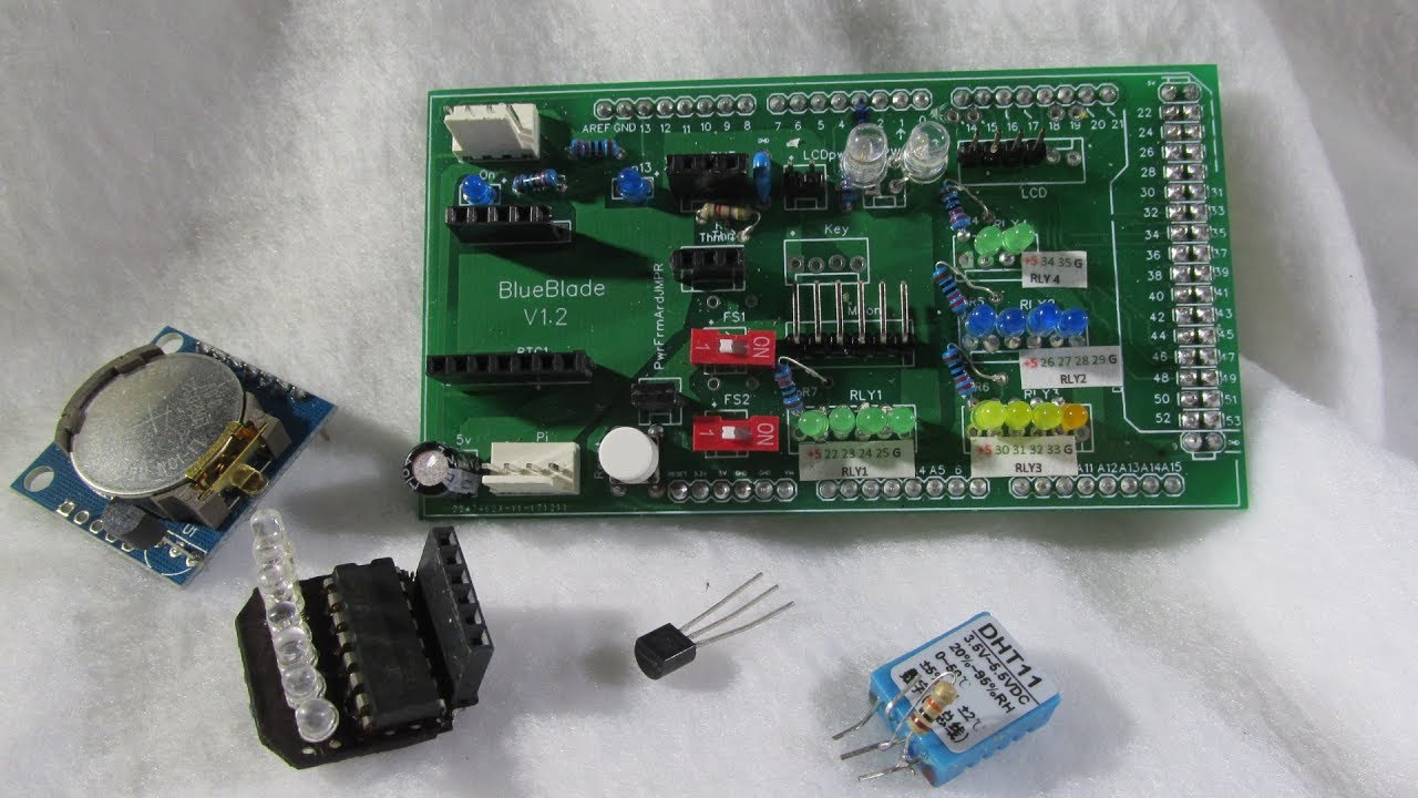 Diy arduino digital aquarium controller part custom pcb